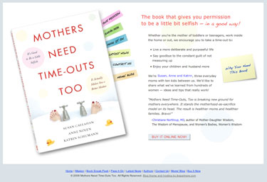 Mothers Need Time Outs Too - MomsTimeOuts.com